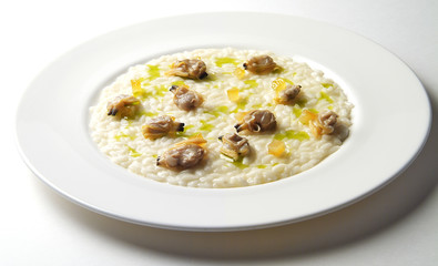 Risotto with Clams and Candied Orange