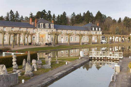 Canal of Briare, Loiret, Centre-Val de Loire, France