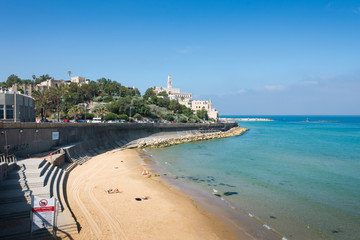 Jaffa view from Tel Aviv