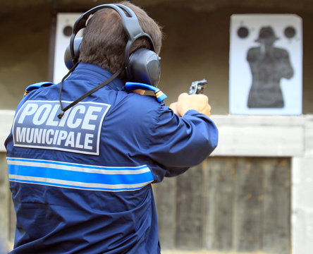 entrainement tir police municipale