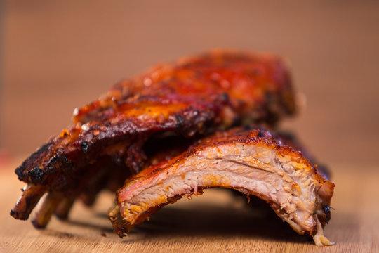 Barbecue Baby Back Pork Ribs