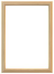 Light wooden frame
