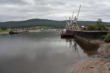 Russia, Irkutsk region, Ust-Kut, Lena river