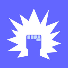 Fist Logo vector template