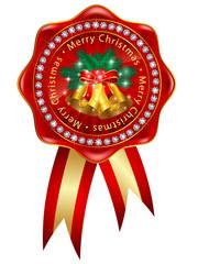 クリスマス メダル アイコン