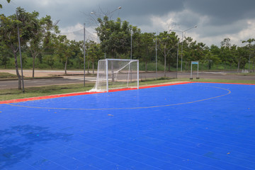 public outdoor futsal court
