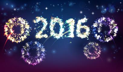 Fireworks 2016 Background