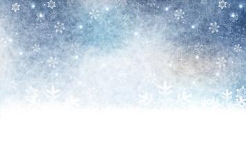 雪 和紙 背景