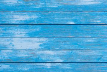 Holzhintergrund Blau Leer Textfreiraum