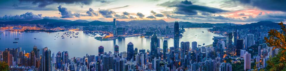 City and Harbor at dawn