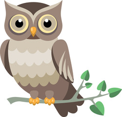 decorative vector owl