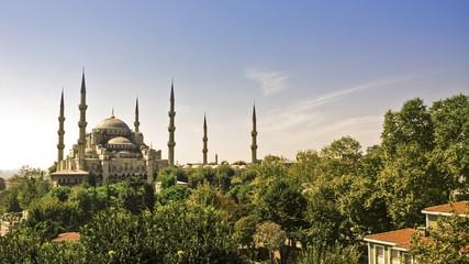 Blue mosque, turkey, istanbul