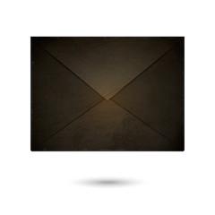 Vector envelope on white background. Eps 10