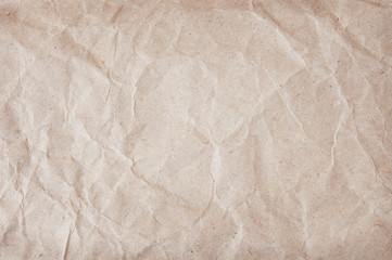 Old rumpled paper background
