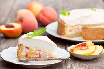 delicious homemade peach pie
