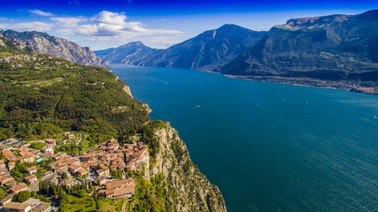 Gardasee Italien im Sommer