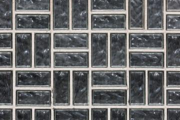 Window with dirty glass bricks