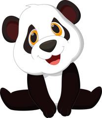 Baby panda cartoon