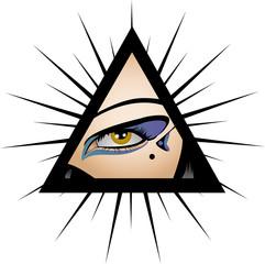 Cyberpun - Eye seeing everything