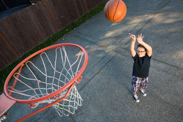basketball practice at home