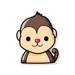 Chinese Zodiac monkey doodle