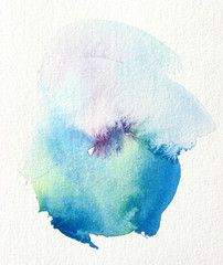 abstract watercolor background wash