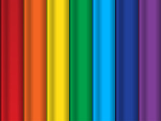 Bright abstract vector rainbow background