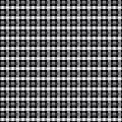 Seamless metal interweaving pattern.
