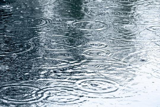 rain drops background