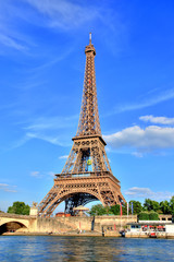 Fotobehang Eiffeltoren Eiffel Tower, Paris