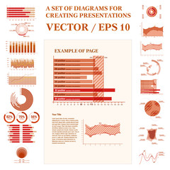 Infographic Conceptual Elements.