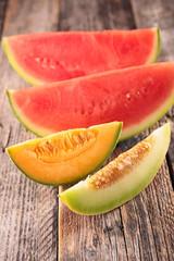 melon,watermelon