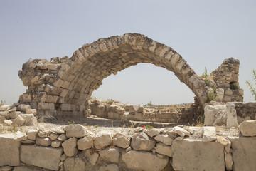 Roman ruins in Kizkalesi, Turkey