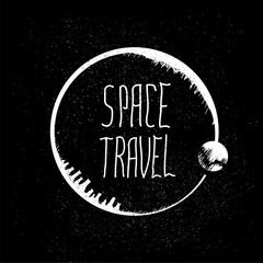 space travel logo