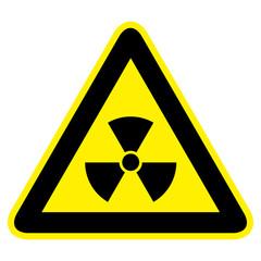 Radioaktiv Warnzeichen