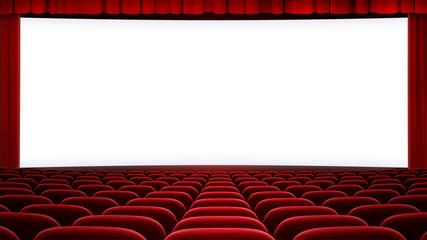 wide cinema screen backgound (aspect ratio 16:9)