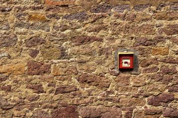 Hauswand Stein Fassade