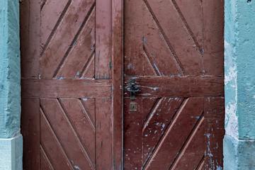 alte Holztür Eingang © Matthias Buehner