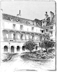 Hospice of maternity (The former cloister of the Abbey), vintage