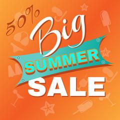 Summer Big Sale Promotion.