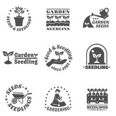 Seedling Label Set