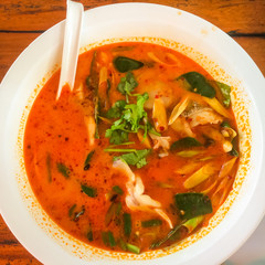 Tom Yum fish.