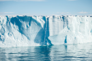 beautiful iceberg in Arctic for background