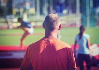 Fotobehang Peking Coaching practice