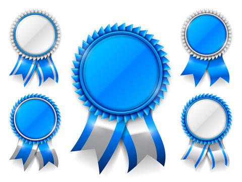 Blue Award Medals