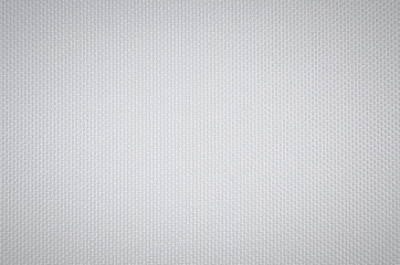 texture of white canvas background Fototapete