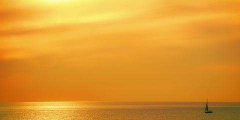 I love the marine sunset