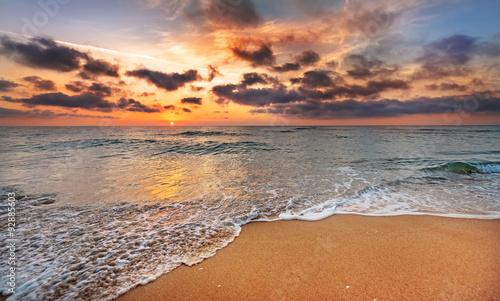 Берег закат песок  № 1209186  скачать