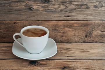 Coffee cup or chocolate closeup