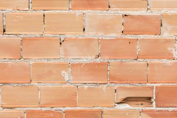 Ziegelsteinmauer Schaden Rohbau Hausbau